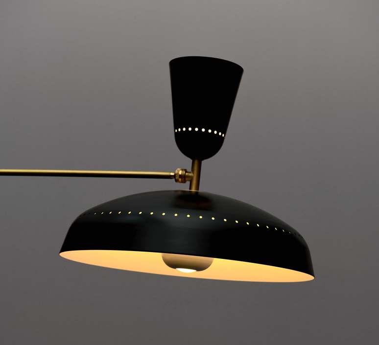 G1 guariche  pierre guariche plafonnier ceilling light  sammode g1susp bk wh  design signed nedgis 84431 product