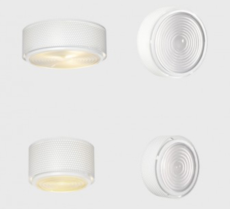 G13  pierre guariche plafonnier ceilling light  sammode g13 white medium  design signed nedgis 64877 product