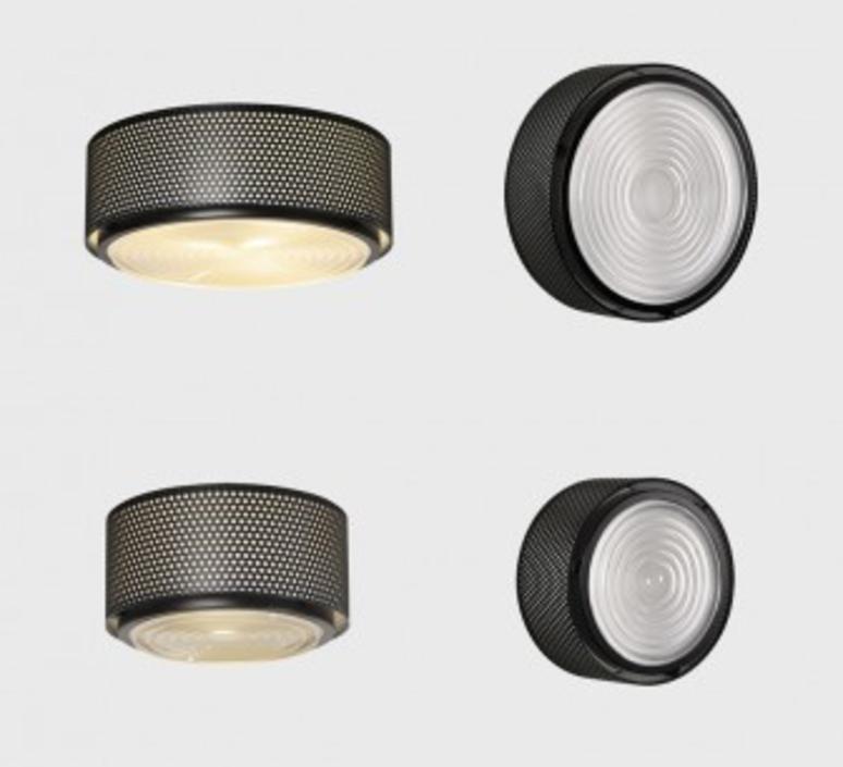 G13  pierre guariche plafonnier ceilling light  sammode g13 black medium  design signed nedgis 64867 product