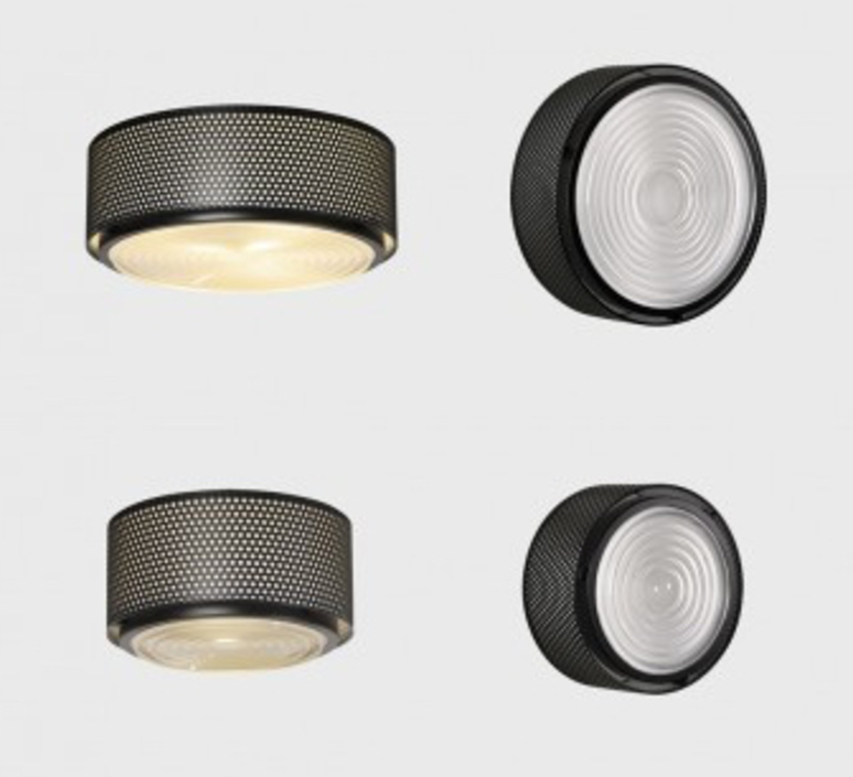 G13  pierre guariche plafonnier ceilling light  sammode g13 black large  design signed nedgis 64864 product