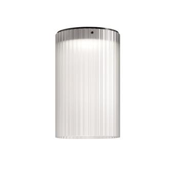Plafonnier giass 30 blanc led o30cm h45cm kundalini normal