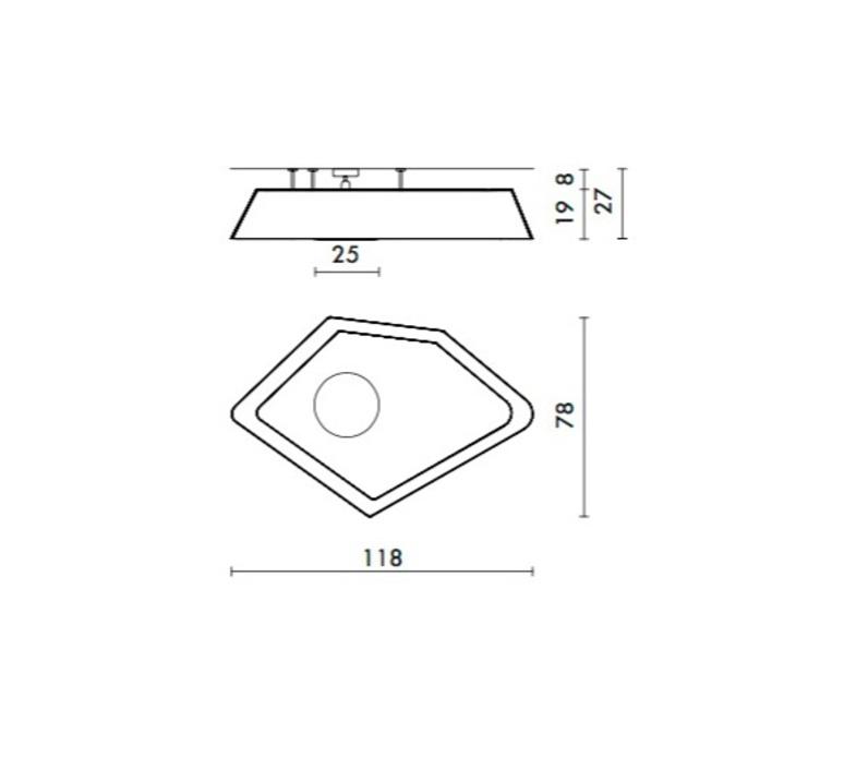 Grand nenuphar kristian gavoille designheure pl118nledgo luminaire lighting design signed 23957 product
