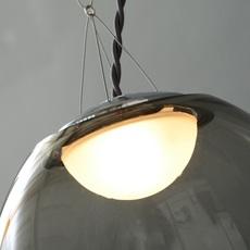 Gris gwendolyn et guillane kerschbaumer plafonnier ceilling light  atelier areti gris pendant large  design signed 44136 thumb