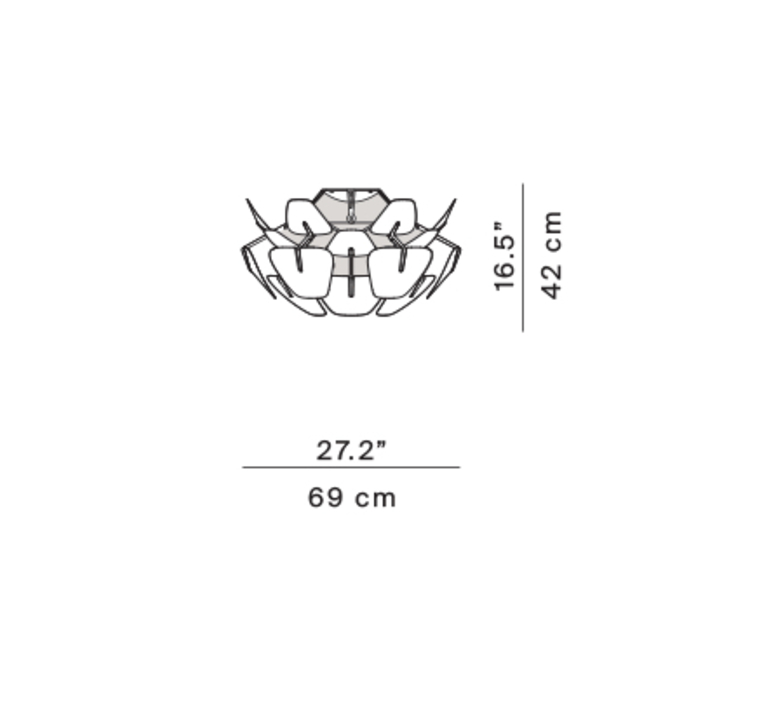 Hope francisco gomez paz plafonnier ceilling light  luceplan 1d6612p00000  design signed nedgis 78470 product