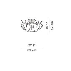 Hope francisco gomez paz plafonnier ceilling light  luceplan 1d6612p00000  design signed nedgis 78470 thumb