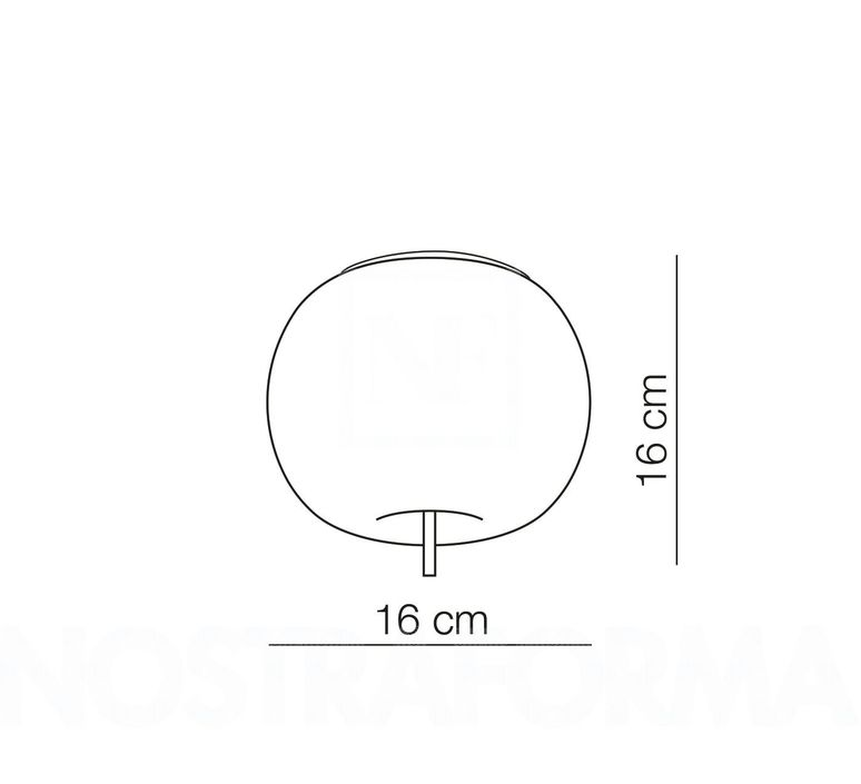 Kushi 16 alberto saggia et valero sommela plafonnier ceilling light  kundalini k2251059n  design signed 50231 product
