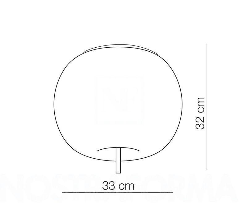 Kushi 33 alberto saggia et valero sommela plafonnier ceilling light  kundalini k220105r  design signed 50259 product
