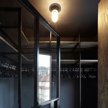 Plafonnier lampe etanche en porcelaine 033 blanc ip54o10cm h19cm zangra normal