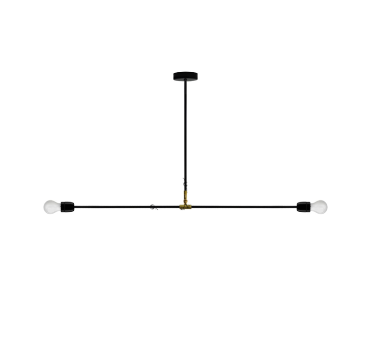 plafonnier lampe porcelaine et m tal noir 110cm h58 5cm zangra luminaires nedgis. Black Bedroom Furniture Sets. Home Design Ideas