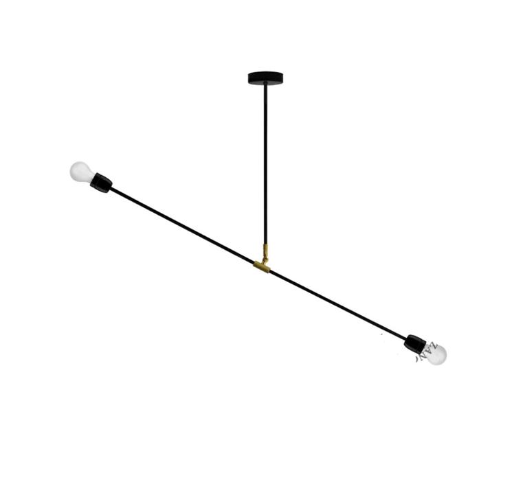 Lampe porcelaine et metal  plafonnier ceilling light  zangra light 036 038 b  design signed 37949 product
