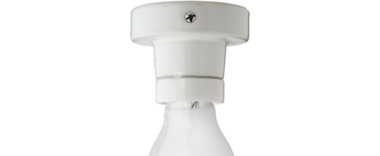 Plafonnier light 002 c w blanc o8cm h6 5cm zangra normal