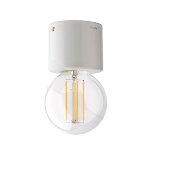 Plafonnier light 014 009 w blanc o8cm h7cm zangra normal