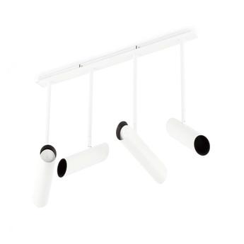 Plafonnier link blanc 4l o5 6cm h46cm faro normal