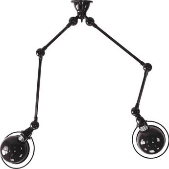 Plafonnier loft sky4224 noir mat o16cm h59cm jielde normal