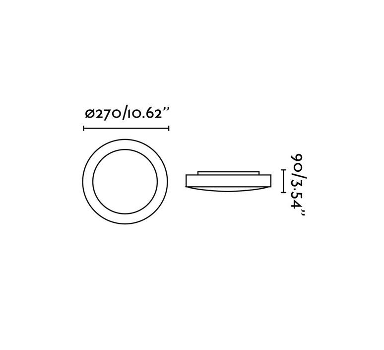 Logos 1 estudi ribaudi plafonnier ceilling light  faro 62980  design signed nedgis 67684 product