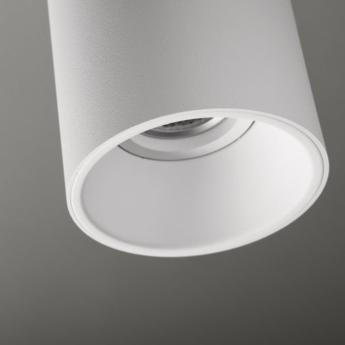 Plafonnier lotis tubed surface blanc o8 5cm h13cm modular normal