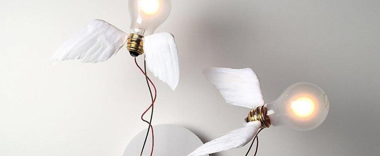 Plafonnier lucellino doppio led blanc rouge o50cm h50cm ingo maurer normal
