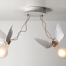 Lucellino doppio led ingo maurer plafonnier ceilling light  ingo maurer 4803020  design signed nedgis 64791 thumb