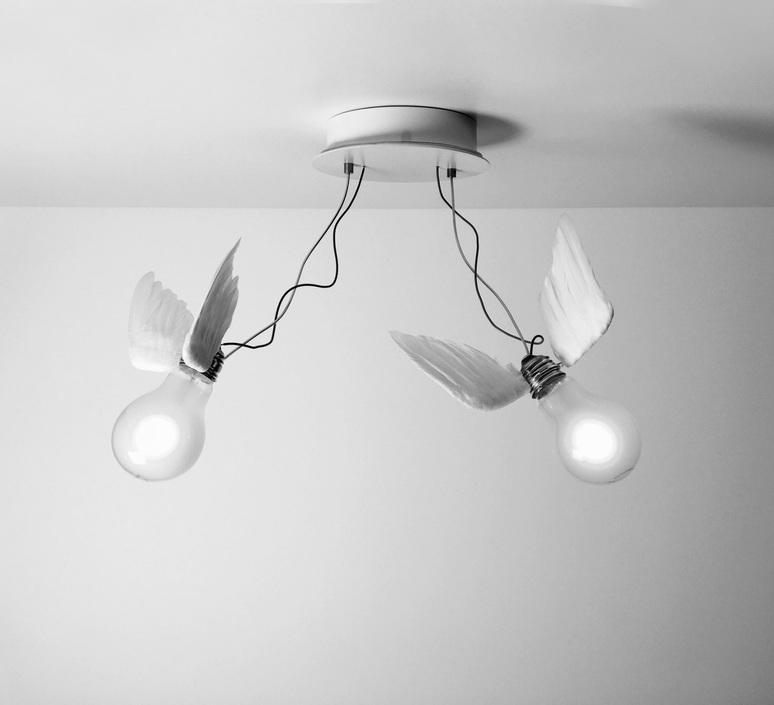Lucellino doppio led ingo maurer plafonnier ceilling light  ingo maurer 4803020  design signed nedgis 64793 product