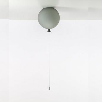 Plafonnier memory ballon gris mat o25cm brokis normal