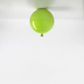 Plafonnier memory ballon vert brillant o25cm brokis normal