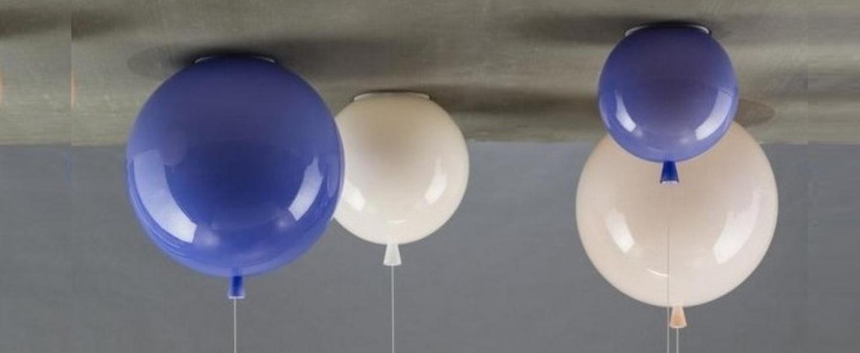 Plafonnier memory bleu o25cm brokis normal
