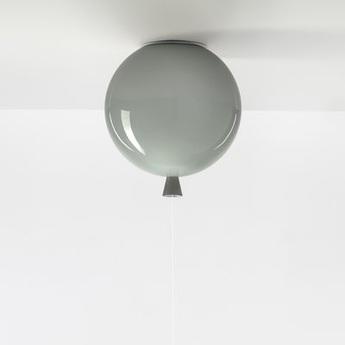 Plafonnier memory gris brillant o25cm brokis normal