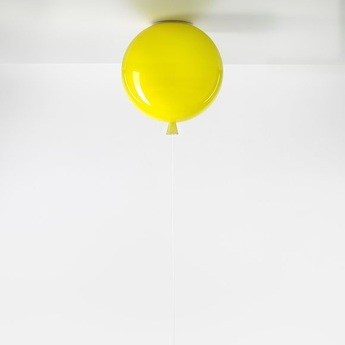 Plafonnier memory jaune brillant o30cm brokis normal