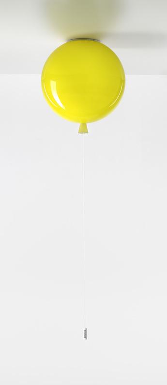 Plafonnier memory jaune o25cm brokis normal