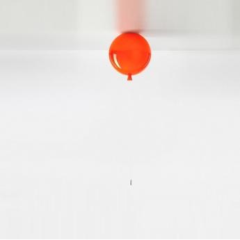 Plafonnier memory orange brillant o30cm brokis normal