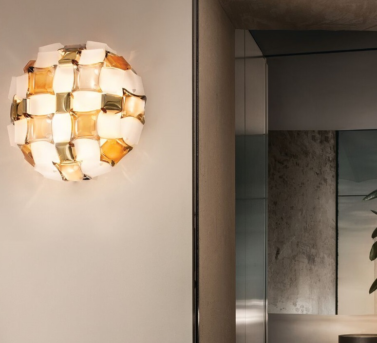Mida adriano rachele plafonnier ceilling light  slamp mid78plf0000yw000  design signed nedgis 66131 product