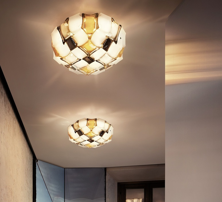 Mida adriano rachele plafonnier ceilling light  slamp mid78plf0000yw000  design signed nedgis 66133 product