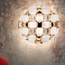 Mida adriano rachele plafonnier ceilling light  slamp mid78plf0000gd000  design signed nedgis 66142 thumb