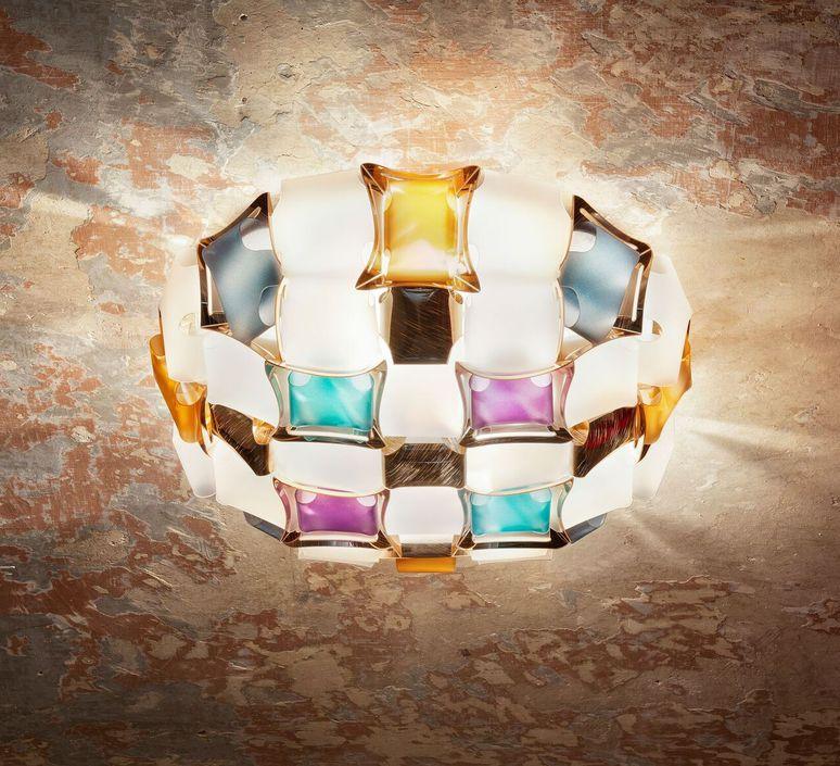 Mida adriano rachele plafonnier ceilling light  slamp mid78plf0000m 000  design signed nedgis 66128 product
