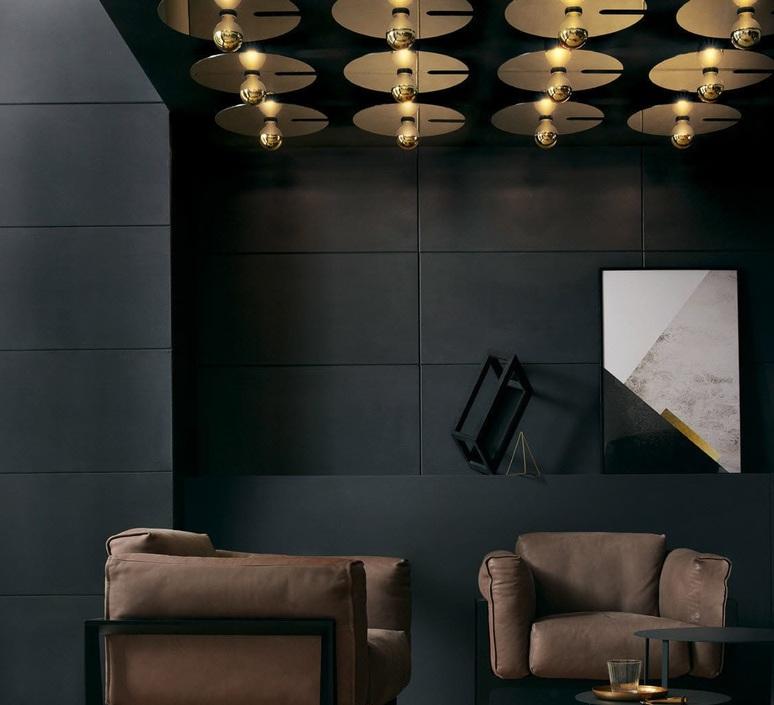 Mirro ceiling 3 0 13 9 design plafonnier ceilling light  wever ducre 6323e8gb0  design signed nedgis 67348 product