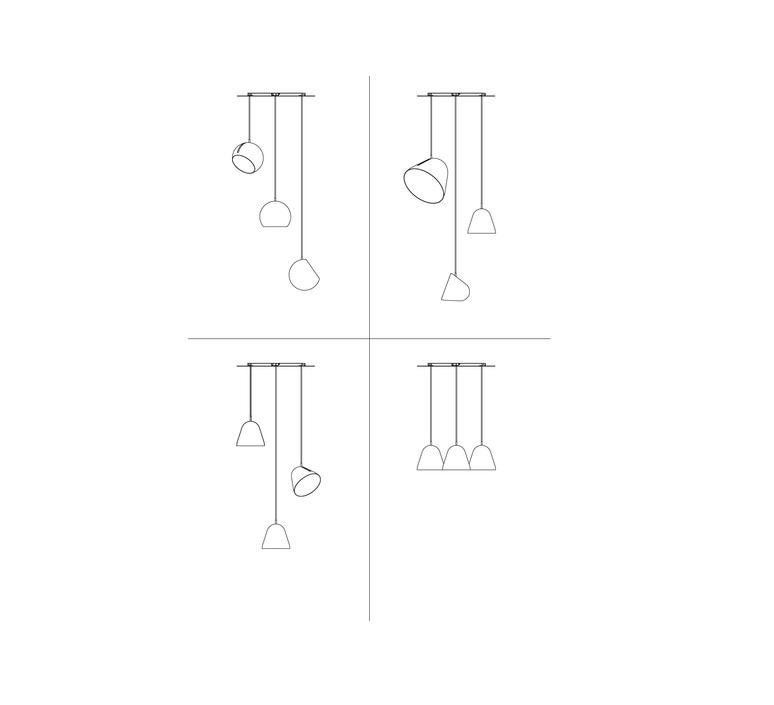 Multiple 3 jjoo plafonnier ceilling light  nyta multiple3 white  design signed 46368 product