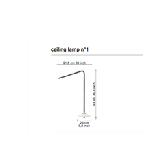 N 1 muller van severen plafonnier ceilling light  serax v9018001m  design signed 69951 thumb