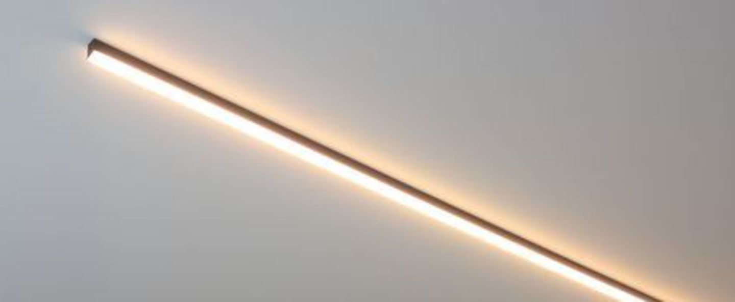 Plafonnier ninza c noir led 2700k o120cm h3 5cm dark normal