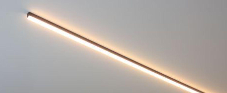 Plafonnier ninza c noir led 2700k o90cm h3 5cm dark normal