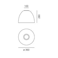 Nur mini ernesto gismondi plafonnier ceilling light  artemide a246500  design signed nedgis 75528 thumb