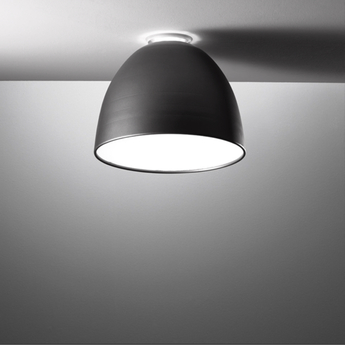 Plafonnier nur mini anthracite o36cm h28cm artemide normal