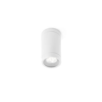 Plafonnier olot blanc o6cm h10 5cm faro normal