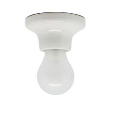 Plafonnier ou applique porcelaine blanc en saillie o10 h5 5cm zangra 59653 thumb
