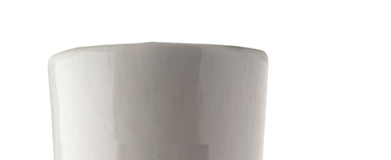 Plafonnier ou applique porcelaine blanc en saillie o7 h6cm zangra normal