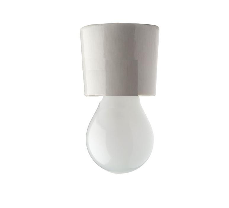 Plafonnier ou applique porcelaine blanc en saillie o7 h6cm zangra 72729 product