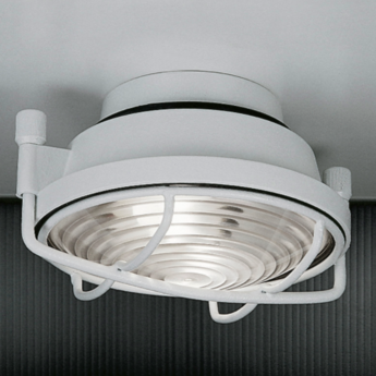 Plafonnier out blanc led o26cm h11cm martinelli luce normal
