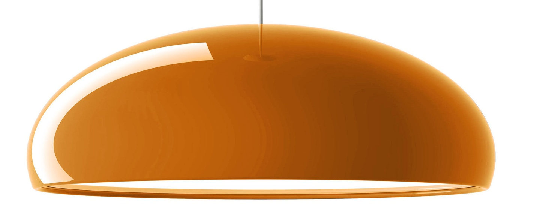 Plafonnier pangen orange o60cm fontana arte normal