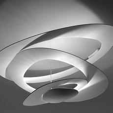 Pirce giuseppe maurizio scutella  plafonnier ceilling light  artemide 1253w10a  design signed 35309 thumb