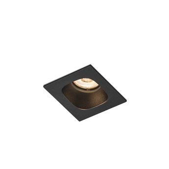 Plafonnier pirro 1 0 noir led 2700k 380lm o5 6cm h4 3cm wever ducre normal