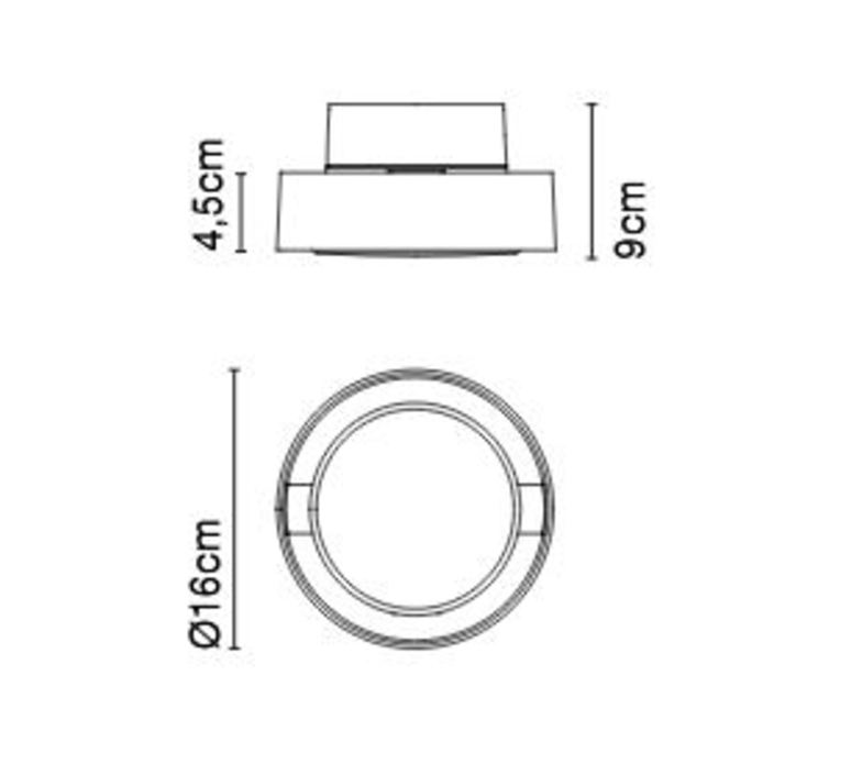 Plaff on ip65 joan gaspar plafonnier ceilling light  marset a628 050  design signed nedgis 68451 product